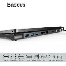 Bộ Hub chuyển đa năng Baseus Enjoyment Series Type C dành cho Smartphone Laptop Macbook
