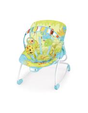 Ghế rung, bập bênh kiêm ghế ngồi trẻ em 2 vị trí ngả với 12 bài nhạc Mastela 6903/6904 – Bảo hành chính hãng 1 năm