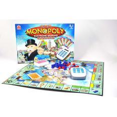 Cờ Tỷ Phú Monopoly Electronic Banking Máy Tính Tiền, Quẹt Thẻ Điện Tử Phiên Bản Cao Cấp – TOYSTORE