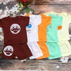 ẢNH THẬT Combo 5 bộ quần áo cho bé trai, bé gái nhiều màu xinh xắn