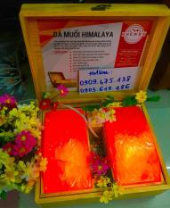 Hộp Đá Muối Himalaya Loại 2 viên Cao Cấp – Tặng 1 bịch muối tắm và 2 bóng đèn thay thế!!!(tặng 1 hộp muối ăn Himalaya 500gr khi mua 3sp trở lên)