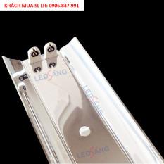 Máng đèn LED Inox 1m2 – Máng chóa đèn inox đôi (IN – C2 – 120)