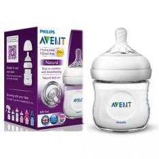 Bình sữa Philips Avent Natural 125ml/ 260ml/ 330ml bằng nhựa PP, không có BPA