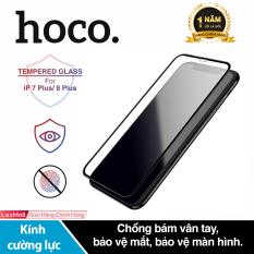 Kính cường lực Hoco G5 chống bám vân tay bảo vệ mắt độ cứng 2.5D dành cho iPhone 7 Plus/ iPhone 8 Plus