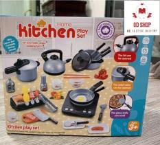 Bộ đồ chơi nhà bếp nấu ăn kitchen 36 chi tiết chất liệu cao cấp, thiết kế hình ảnh chân thực theo thực tế cho bé thỏa sức sáng tạo Bé nấu ăn, đồ chơi bé gái, đồ chơi bé trai, đồ chơi cho trẻ, Bộ Đồ Chơi Nấu Ăn Kitchen 36 Chi Tiết Cho Bé