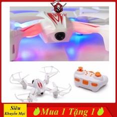 Đồ Chơi Flycam Mini KINPOW Mô Hình 4 Cánh, Ánh Sáng Lấp Lánh, Tạo Sự Vui Nhộn Cho Bé, Nhào Lộn 360 Độ