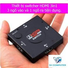 Bộ gộp HDMI 3 cổng vào 1 cổng ra (Đen) technologie
