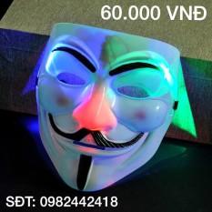 Mặt nạ hacker anonymous có đèn a00