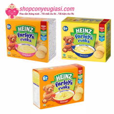Bánh Quy Heinz Farley's Rusks 120g Nhiều Vị Cho Bé Ăn Dặm – Vị Chuối