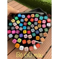 Bút màu TouchCool Marker 30/40/60/80 Màu. Tặng kèm 3 bút da +2 bút line đen trắng , touchliit bút vẽ chuyên nghiệp