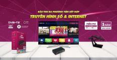 Đầu thu VTC Now Hybrid 01 Smartbox Android TV tích hợp Truyền hình DVB-T2 chính hãng
