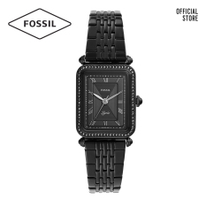 Đồng hồ nữ FOSSIL dây thép không gỉ Lyric ES4722 – màu đen