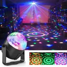 Đèn LED 7 màu vũ trường cảm ứng nhạc bóng đèn LED trụ đèn LED xoay 7 màu sân khấu chớp theo nhạc.