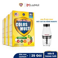 [Tặng Máy Xay Đa Năng] Combo 3 hộp Sữa bột Colosmulti