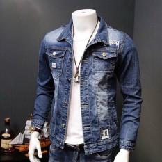 áokhoác jean nam cao cấp pt20 bụi bặm chuẩn men thời trang 89fashion Store an200