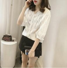Áo nữ trẻ trung màu trắng SM185