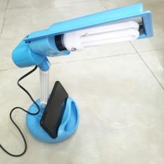 Đèn bàn học bài, đọc sách đa năng loại tốt – Có khay gác điện thoại và hộc đụng dụng cụ ( bao gồm bóng compact ) – Điện Việt
