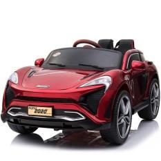 Ô tô xe điện trẻ em KUPAI 2020 đồ chơi vận động đạp ga 2 chỗ 4 động cơ ( Đỏ-Trắng-Cam)