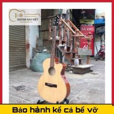 Đàn Guitar Acoustic âm sắc rõ ràng, độ vang tốt, có độ bền cao, dễ dàng sử dụng, có ty giá rẻ – tặng kèm giáo trình – bảo hành 12 tháng