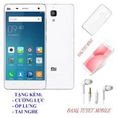 Điện Thoại Xiaomi Mi 4 (3GB/16GB) – Tặng kèm ốp lưng, Tai nghe , Kính cường lực – Có sẵn Tiếng Việt
