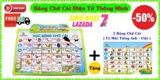 Bảng Chữ Cái Thông Minh ( Tiếng Việt – Tiếng Anh ) Gồm 11 Mặt Thế Hệ Mới – LICLAC