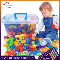 Bộ đồ chơi xếp hình lắp ghép phát triển trí tuệ loại 100, 256, 500 chi tiết tùy chọn – Đồ chơi trí tuệ mới