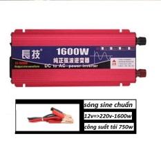 Bộ kích nguồn điện 12v lên 220v 1600w sine chuẩn