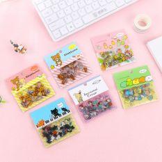 Bộ 80 Sticker Gấu Mèo Thỏ… T550 Giao Ngẫu Nhiên
