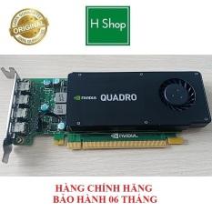 Card màn hình Nvidia Quadro K1200 4GB GDDR5 128 Bit bảo hành 6 tháng