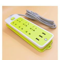 Ổ CẮM ĐIỆN 6 LỖ 3 CỔNG USB