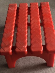 Ghế đòn thẻ chữ nhật 15×24 (cao 10cm)