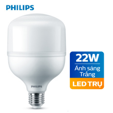 Bóng đèn Philips LED Trụ TForce core 22W HB E27- Ánh sáng trắng/ Ánh sáng vàng