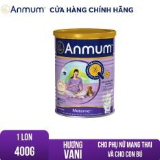 [TẶNG LỐC ANMUM ĐẬM ĐẶC VỊ BẤT KÌ] Sữa bột Anmum Materna hương Vani 400g