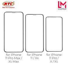 Kính cường lực full màn hình Hoco G5 dành cho các dòng iPhone 11 / 11 Pro / 11 Pro Max / X / Xs / Xr / Xs Max / 7 / 8 PLUS (Đen)