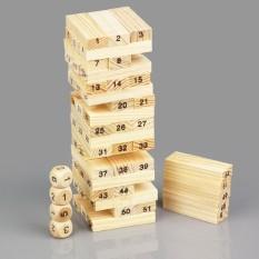 Trò chơi gỗ rút nhỏ hộp xanh54 thanh X-1 bao gồm 54 thanh rút + 4 viên xúc xắc, được làm từ chất liệu 100% bằng gỗ tự nhiên chất liệu mịn màng các miếng ghép được làm tỉ mỉ và chi tiết
