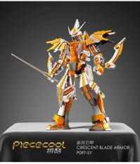 Mô hình kim loại 3D_Robot Ánh Sáng_Crescent Blade Armor