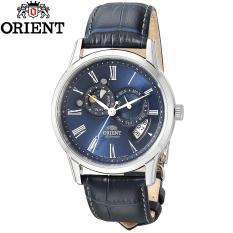 Đồng hồ nam dây da Orient Sun and Moon Gen 2 SET0T004D0