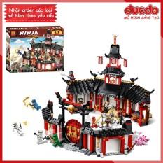 BELA 11165 Lắp ghép Ninjago Đấu Trường Luyện Công – Đồ chơi Xếp hình Mô hình Ninja 70670 06098