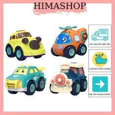Xe Đồ Chơi ô Tô Cho Bé HIMASHOP H026 Chạy Đà Quán Tính Nhiều Mẫu