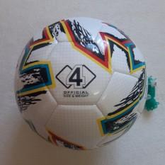 quả bóng đá số 4 mẫu EURO 2020 da cao cấp(tặng kèm kim túi+đôi tất dài)