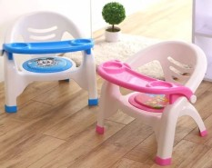 Ghế ăn dặm , ghế bô Việt Nhật có đệm hơi êm mông có còi chíp tạo vui nhộn khi con tập ngồi ăn