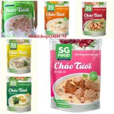 (HCM) COMBO 6 GÓI CHÁO 6 VỊ 270G SG FOOD