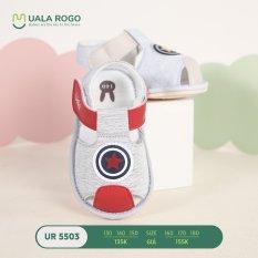 UALA ROGO-Giày tập đi hình ngôi sao chuẩn y khoa đế cao su non chống trơn trượt bé trai bé gái siêu mềm nhẹ