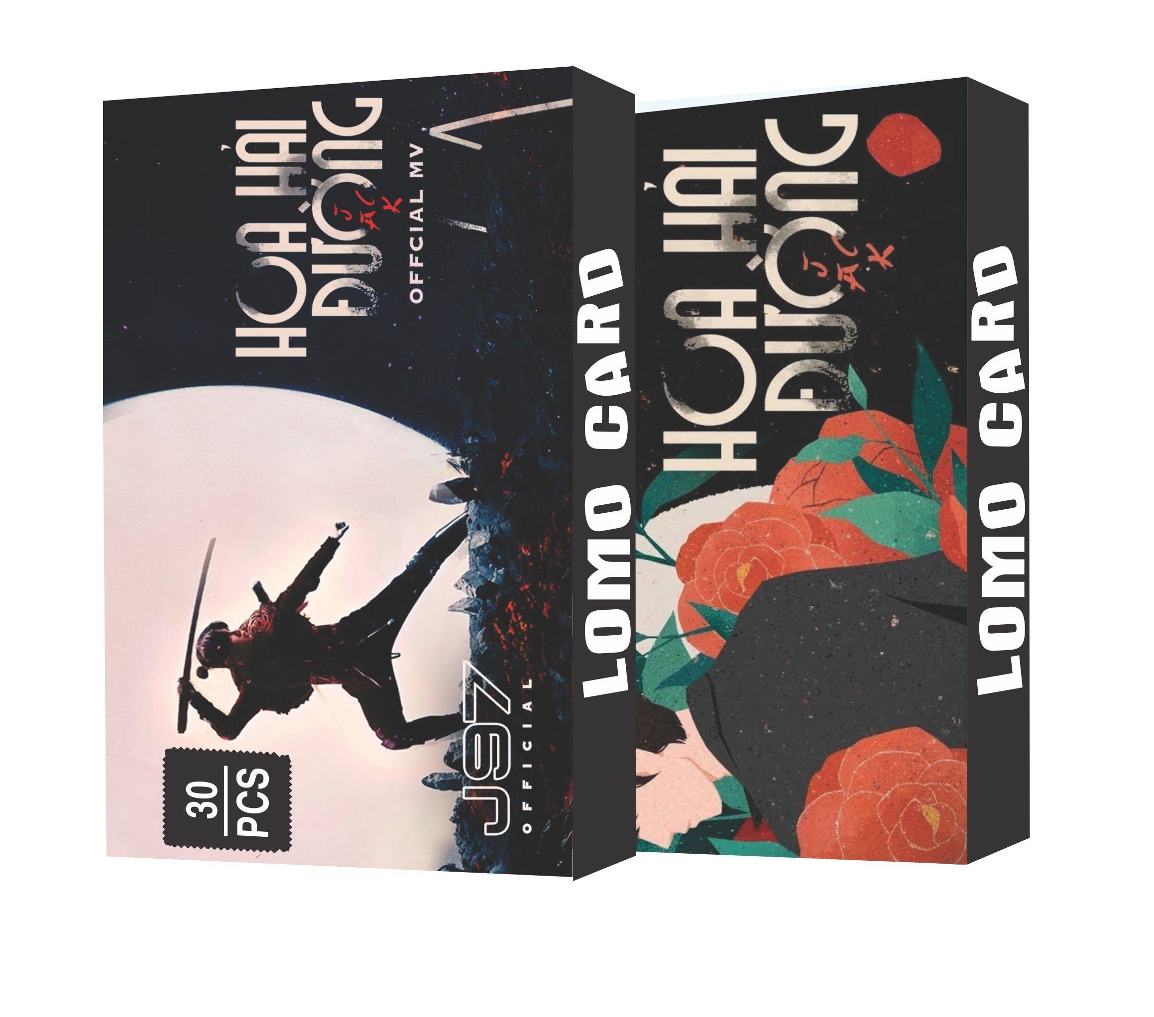 LOMO CARD JACK HOA HẢI ĐƯỜNG THẦN TƯỢNG ÂM NHẠC 30 TẤM CỰC ĐẸP