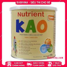 Sữa Bột Nutrient Kao 700g | Phát Triển Chiều Cao Tối Ưu Cho Trẻ Từ 1-6 Tuổi (KAO – NUTRIENTKAO) | Hãng Eneright Việt Nam | Viện Dinh Dưỡng Khuyên Dùng | Babivina, Sữa Chính Hãng, Bán Lẻ Giá Sỉ