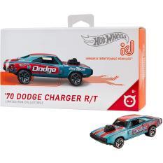 Xe mô tô mô hình tỉ lệ 1:64 Hot Wheels ID '70 Dodge Charger R/T