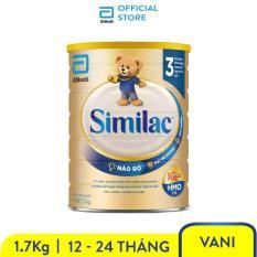 Sữa bột Similac Eye-Q 3 HMO 1.7kg Gold Label