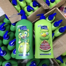 Dầu gội, tắm, xả cho bé 3in1 Suave Kids- 532ml.