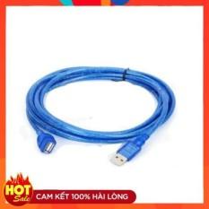 Dây nối dài USB 1.5m xanh chống nhiễu-dây USB 1 đầu đực 1 đầu cái, cam kết hàng đúng mô tả, chất lượng đảm bảo an toàn đến sức khỏe người sử dụng, đa dạng mẫu mã