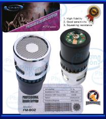 Củ Micro UGX FM-802 Professional Dynamic Cartridge hút âm mạnh, âm treble mượt. Chống hú tốt